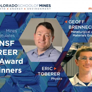 Postcard for NSF CAREER Award winners