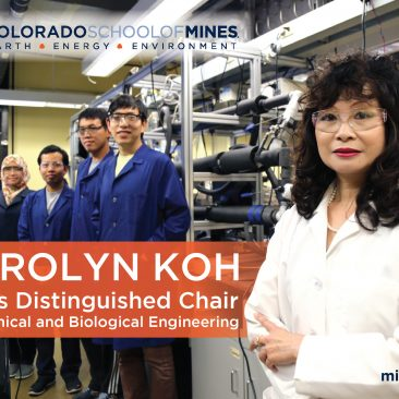 Postcard: Coors Distinguished Chair